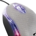 Mouse con led multicolor de 800 dpis
